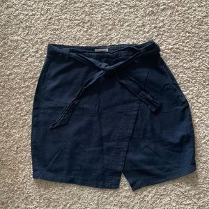 Just Living women's navy skirt size L